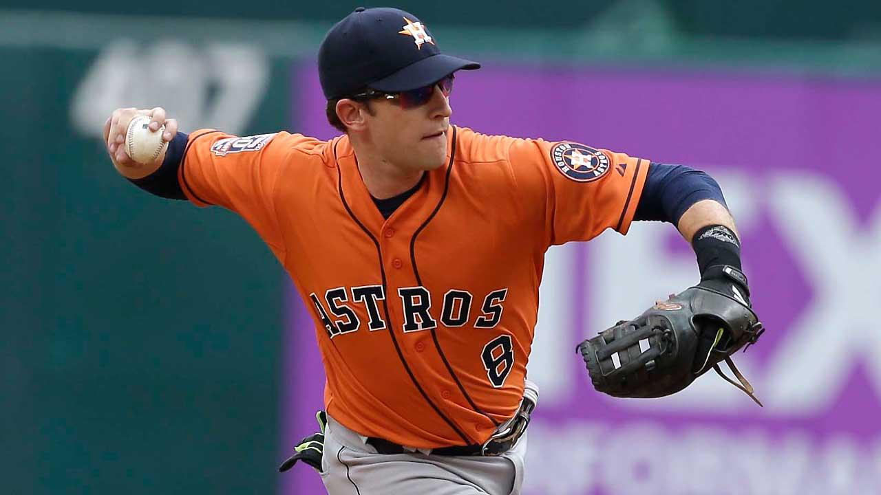 Jed Lowrie de Houston a Oakland por un lanzador de liga menor