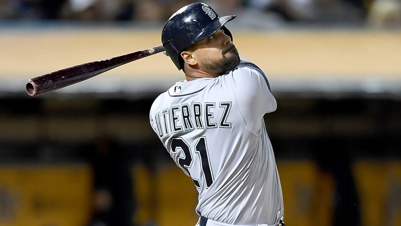Informe: El OF veterano Franklin Gutiérrez pacta con los Dodgers