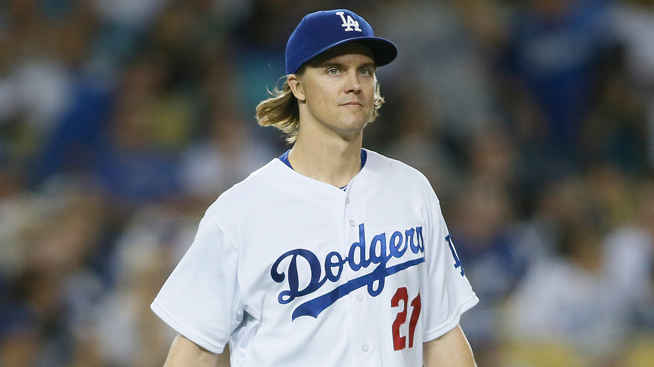 Greinke es agente libre tras salirse de su contrato con los Dodgers