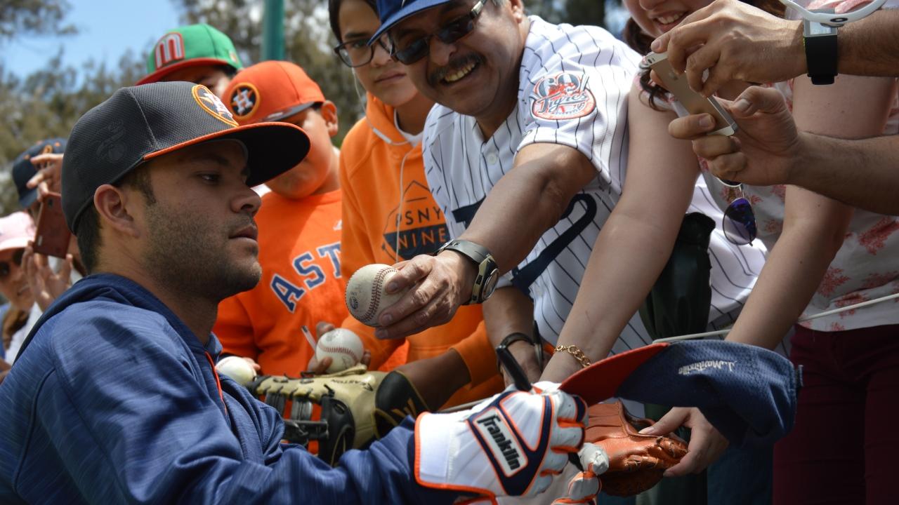 Los Astros aspiran a llegar y ganar la Serie Mundial: Altuve