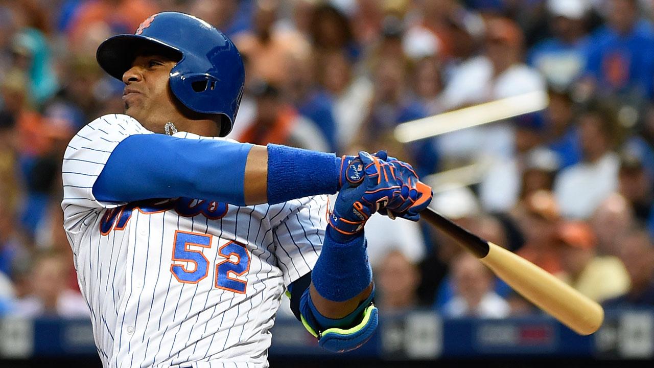 El cubano Yoenis Céspedes se sale de su contrato con los Mets