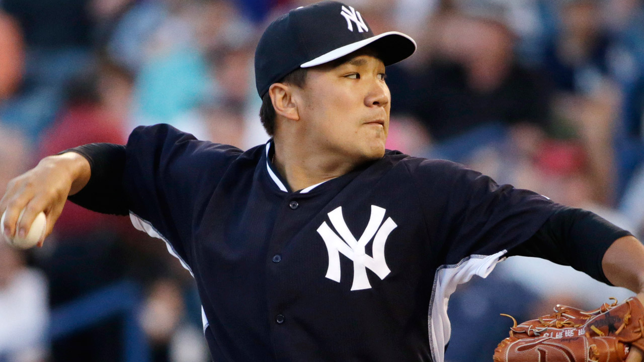Tanaka podría abrir por Yankees en el Día Inaugural