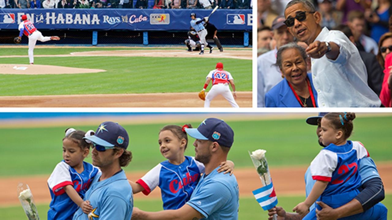 Obama, Cuba y los Rays: Un día histórico en la isla