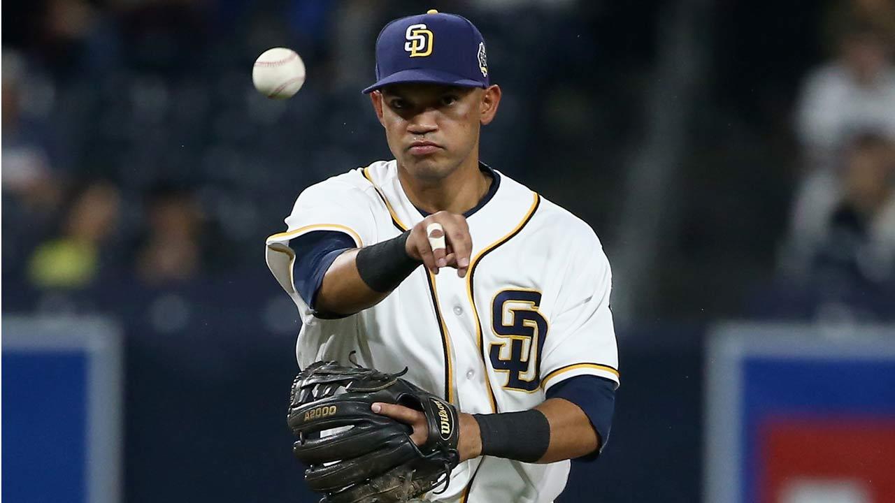 Luis Sardiñas podría ser el torpedero titular de los Padres en el 2017
