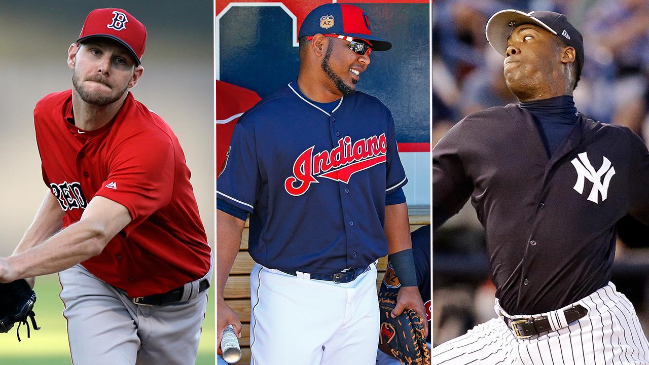 Varias figuras de Grandes Ligas estrenan nuevos uniformes en el 2017