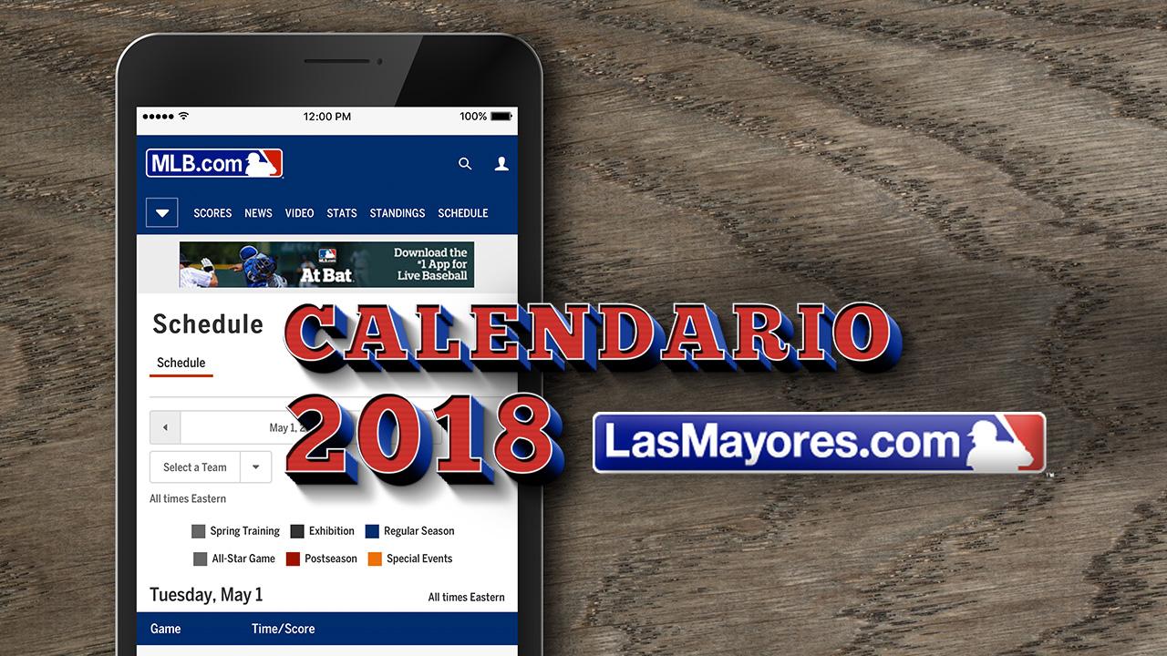 El calendario del 2018 de Grandes Ligas incluye una serie en Puerto Rico