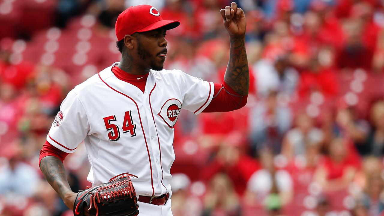 Chapman pasa de Rojos a Yankees por cuatro jugadores