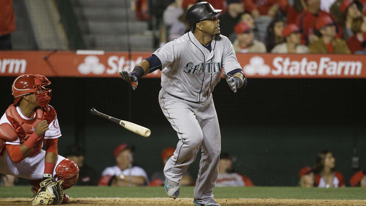 Seattle le pega a Angels detrás de Gutiérrez, Cruz