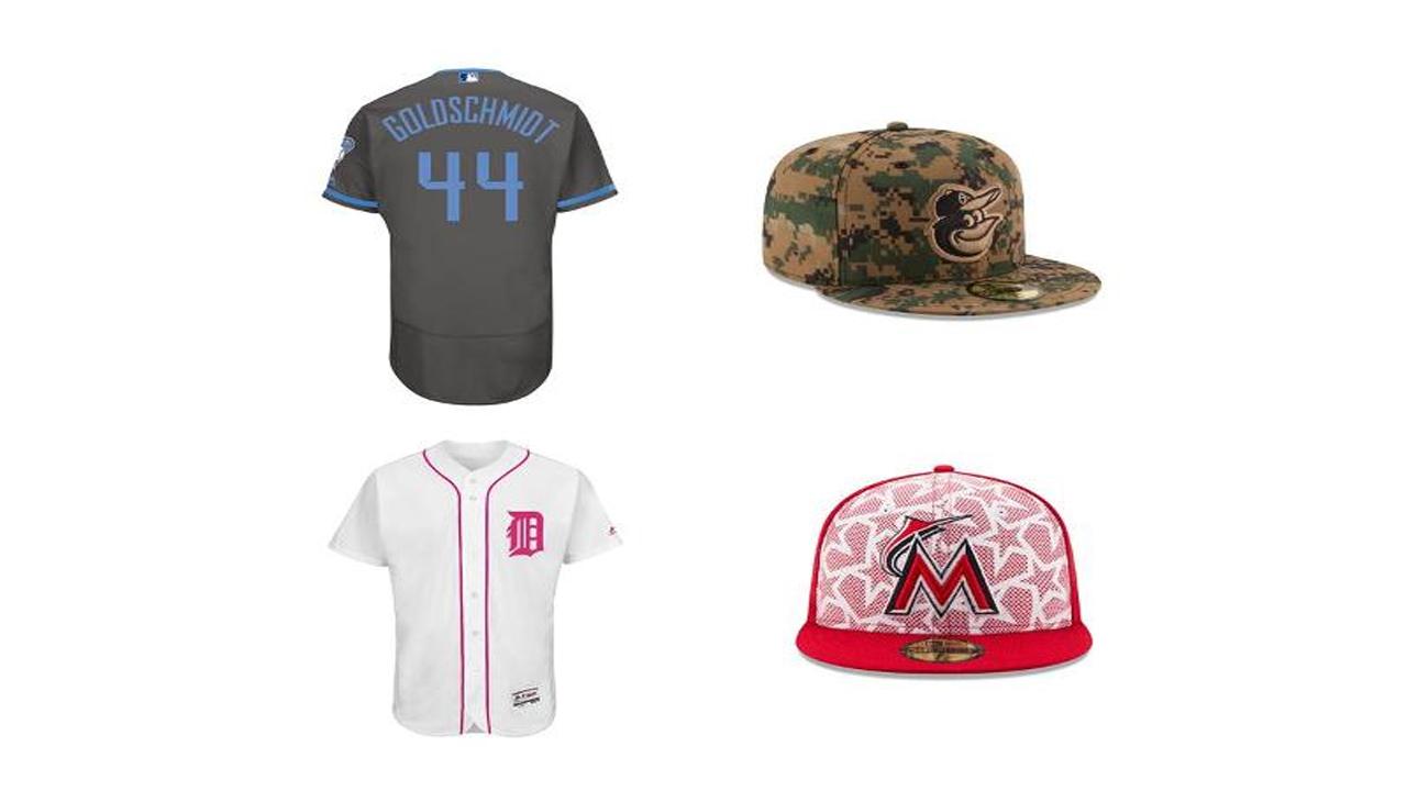 MLB anuncia uniformes especiales para días feriados