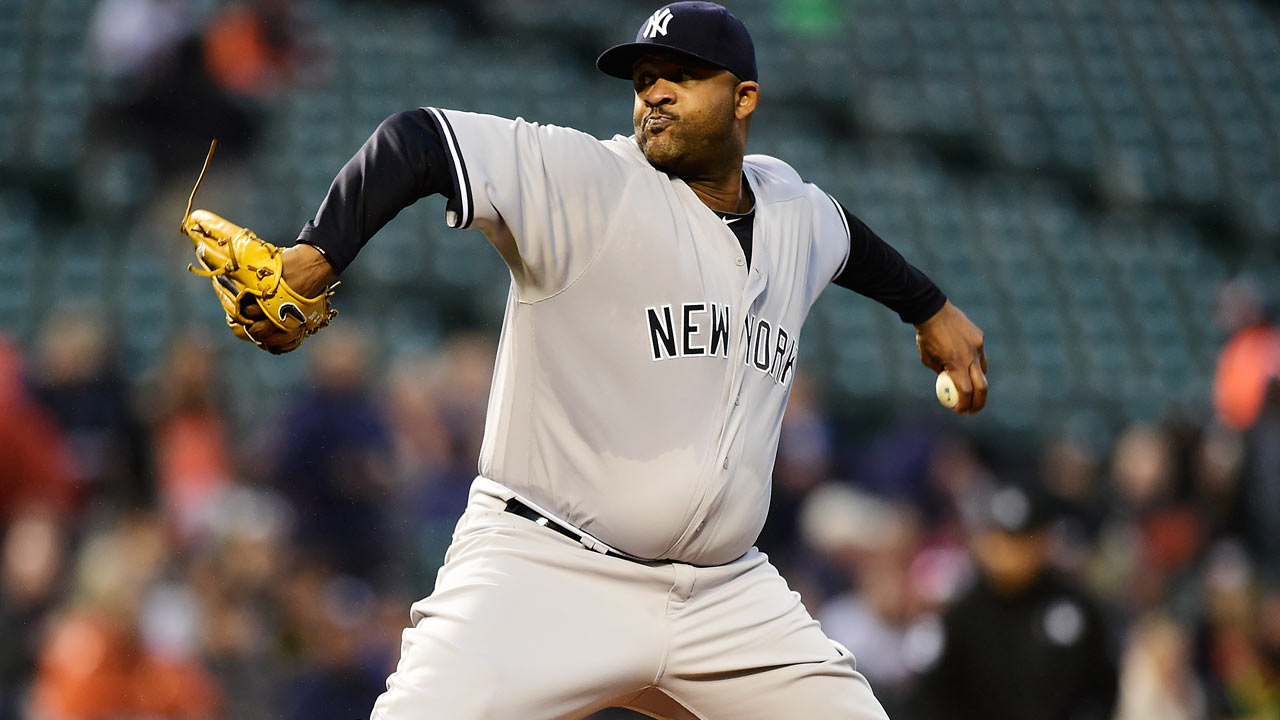 Yankees inhabilitan a CC Sabathia y suben a Phil Coke