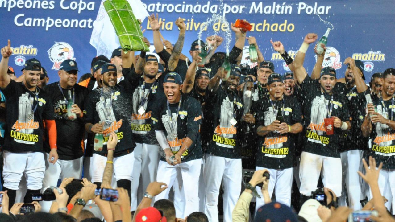 Águilas del Zulia conquistaron su 6to título en Venezuela