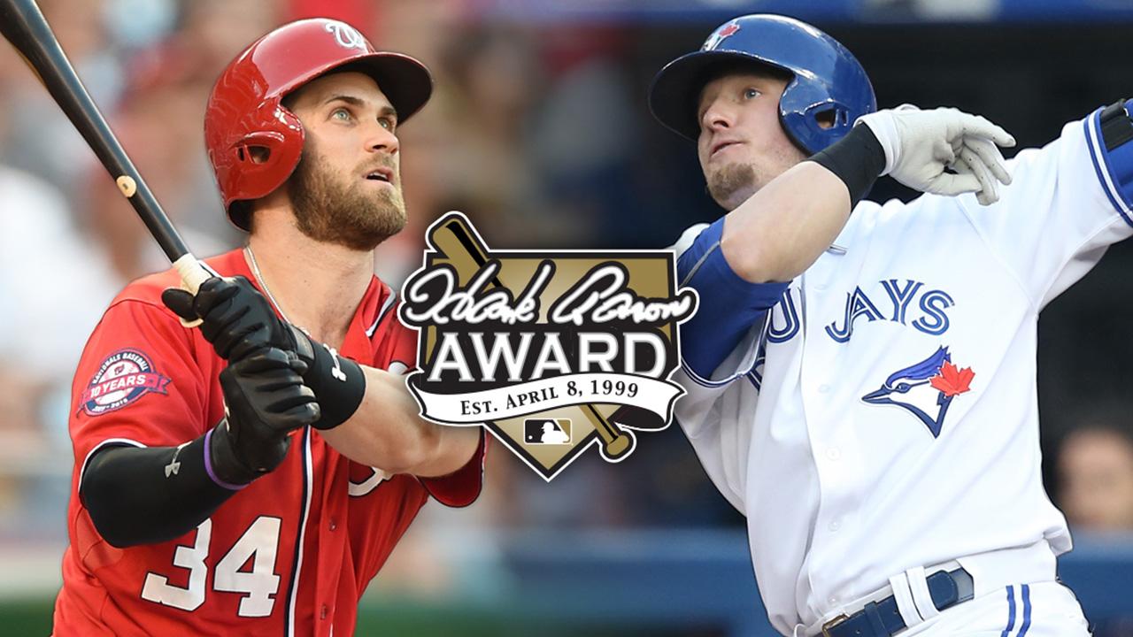 Harper y Donaldson conquistan el Premio Hank Aaron