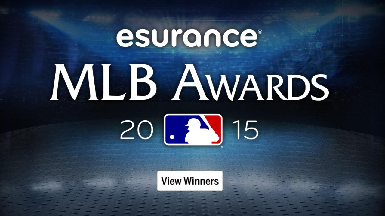 Anunciados los ganadores de los Premios de MLB 2015 Esurance