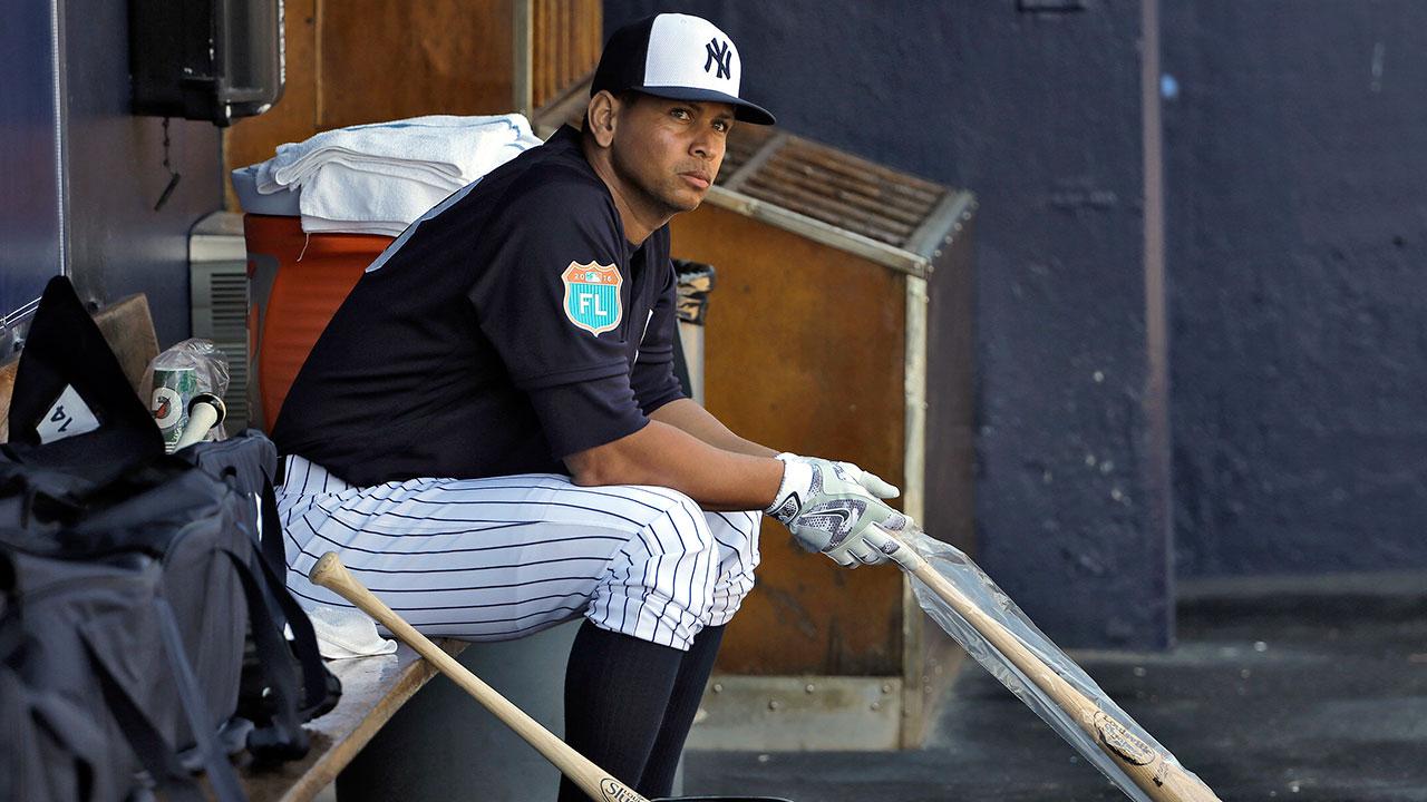 Alex Rodríguez, relajado y listo para la nueva temporada