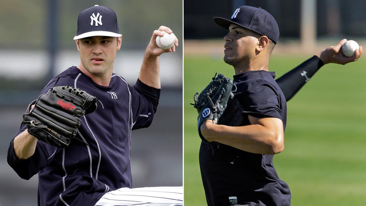 Betances y Miller compartirían el rol de cerrador en Yankees