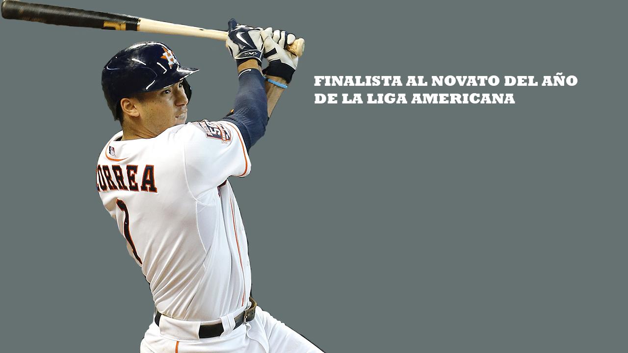 Carlos Correa es el claro favorito para el Novato del Año en la Liga Americana