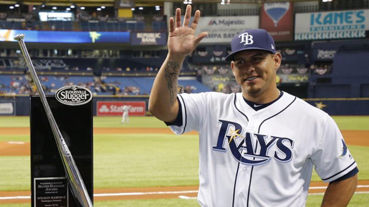 Wilson Ramos espera volver a la acción con los Rays en junio