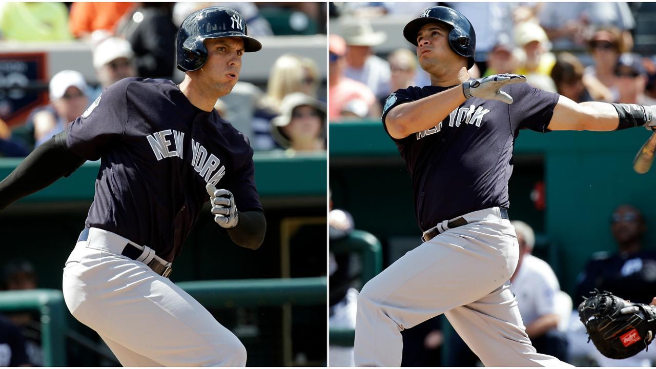 Gary Sánchez y Greg Bird, líderes de la revolución juvenil de Yankees
