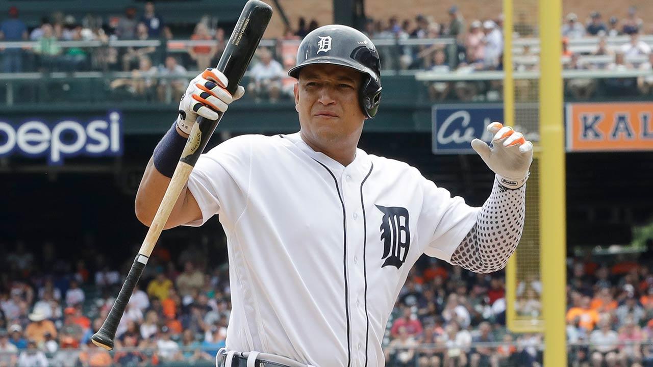 El bache de Miguel Cabrera aún no alarma a los Tigres
