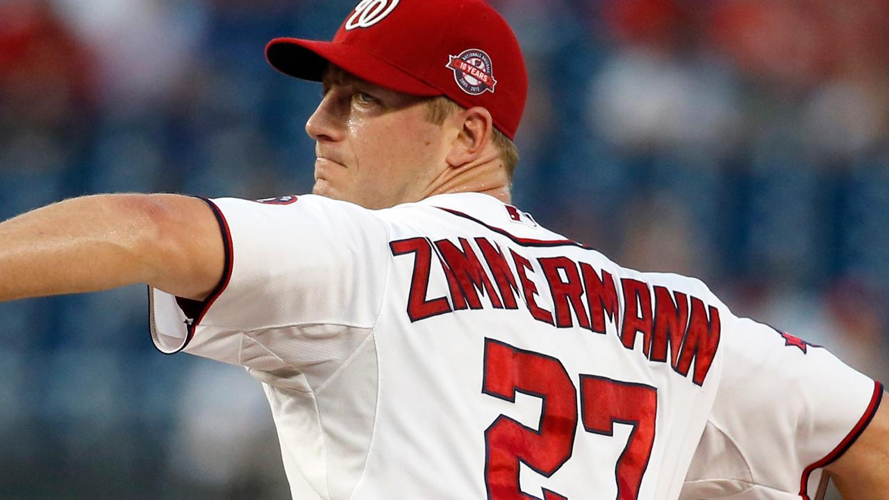 Informe: Jordan Zimmerman pacta por cinco años con Tigres