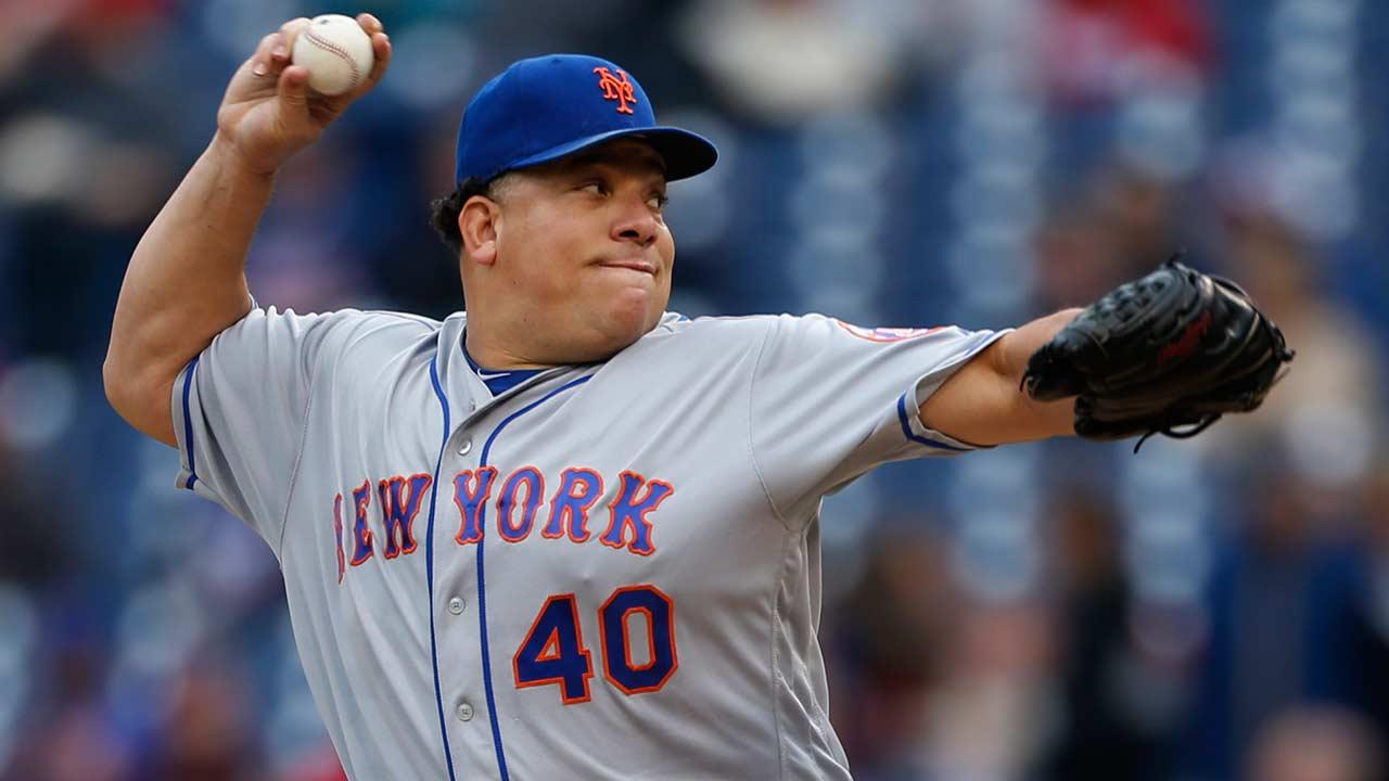 Bartolo Colón deja a los Mets con gratos recuerdos