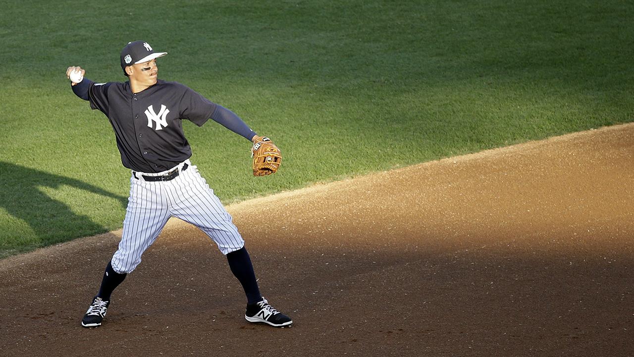 Ronald Torreyes comenzaría el 2017 como el campocorto de los Yankees