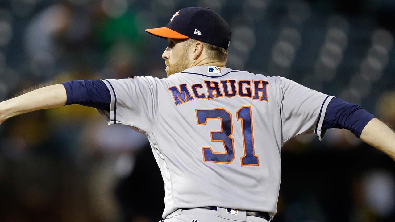 Los Astros saltarán la próxima apertura de Collin McHugh