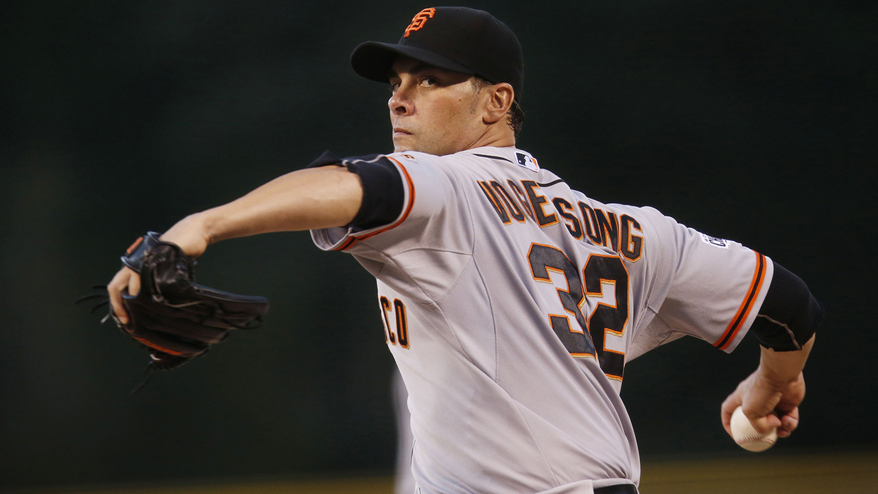 Ryan Vogelsong oficializará su retiro el domingo en San Francisco