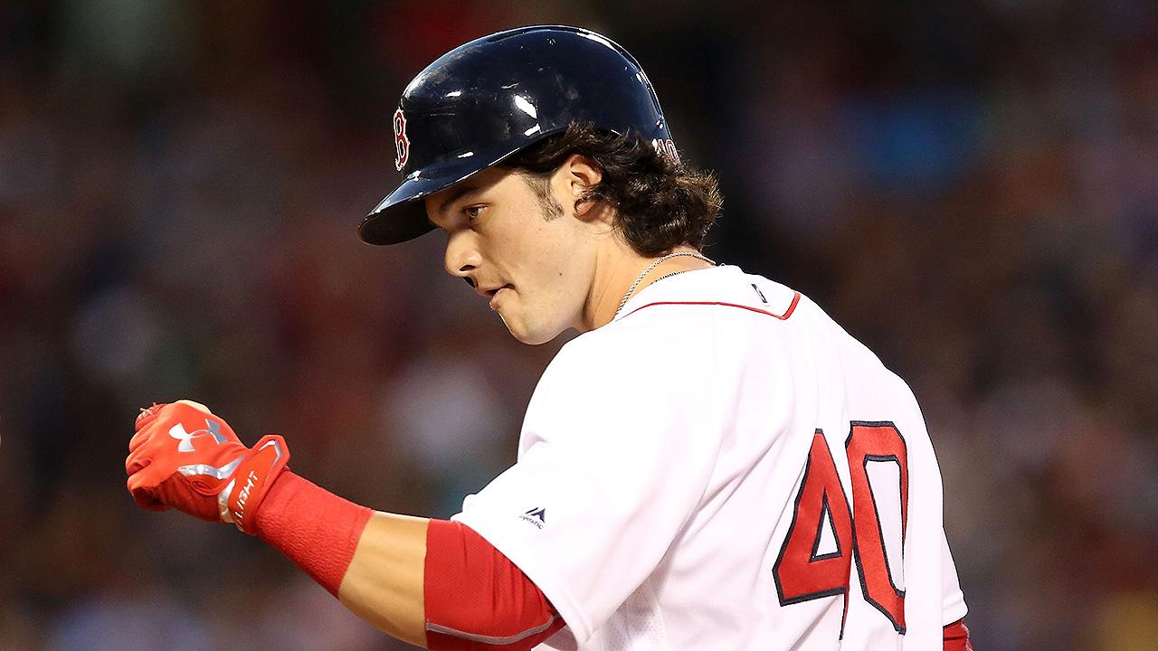 Andrew Benintendi podría volver al lineup de Boston en unos días