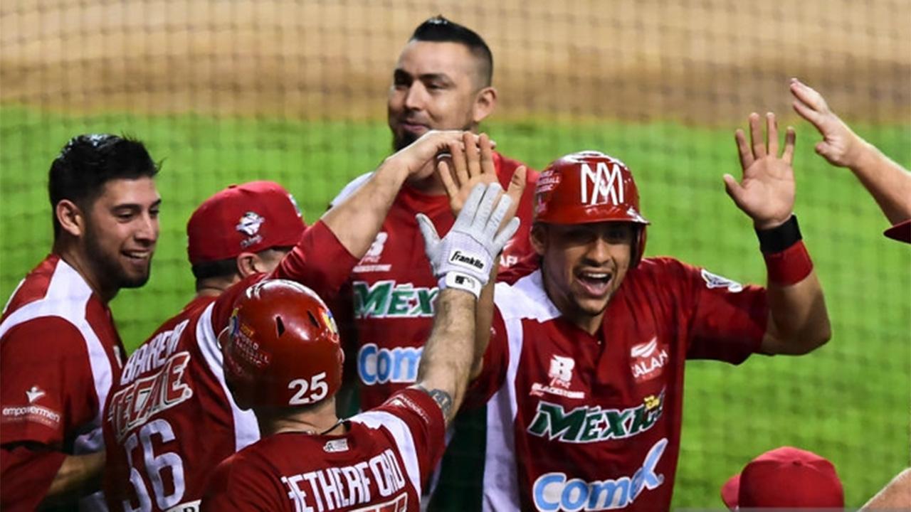 México vence a Dominicana y queda solo en la punta de la Serie del Caribe