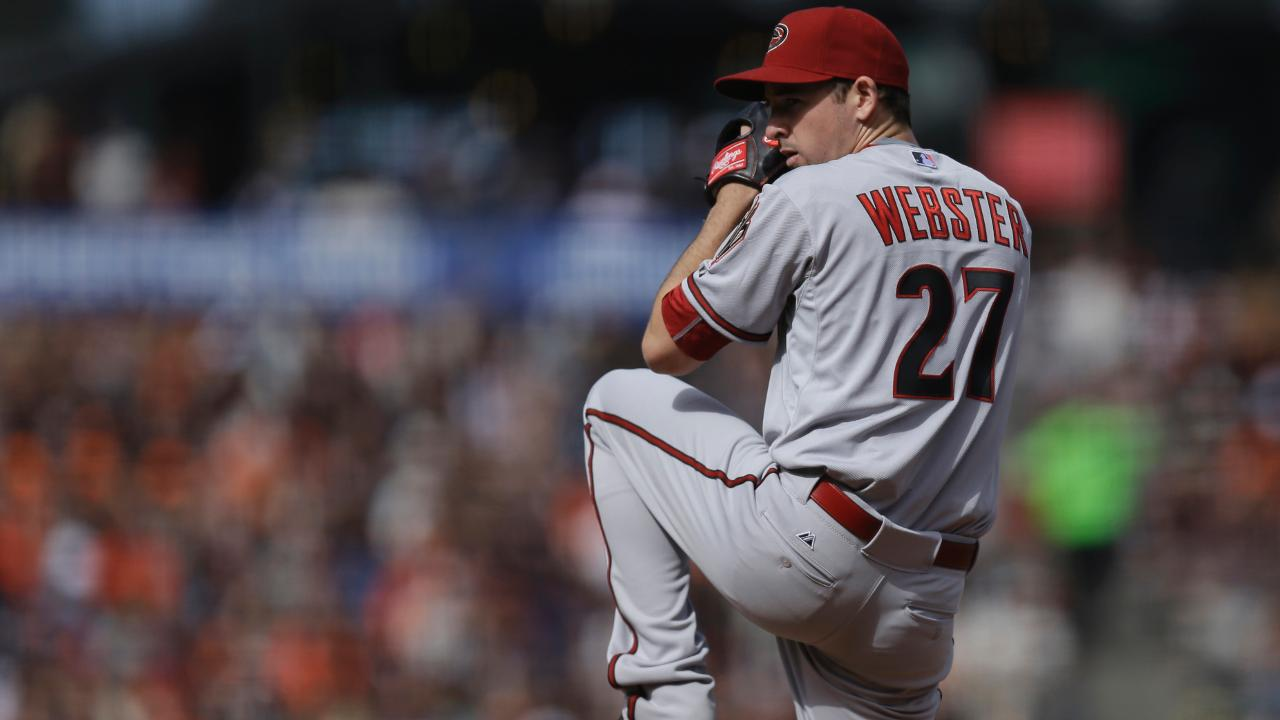 Los Diamondbacks cambian a Allen Webster a los Piratas