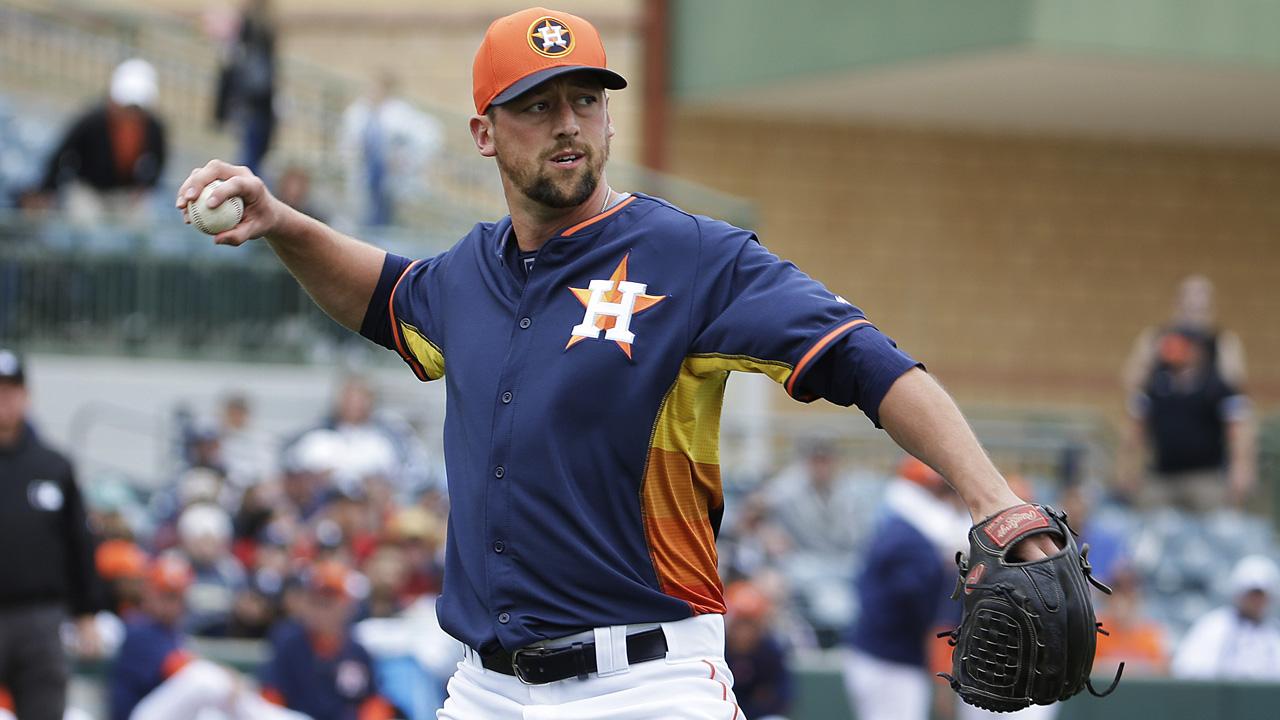 Astros nombran a Luke Gregerson como su cerrador