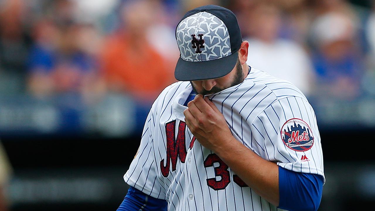 Matt Harvey pasa a la lista de lesionados de los Mets