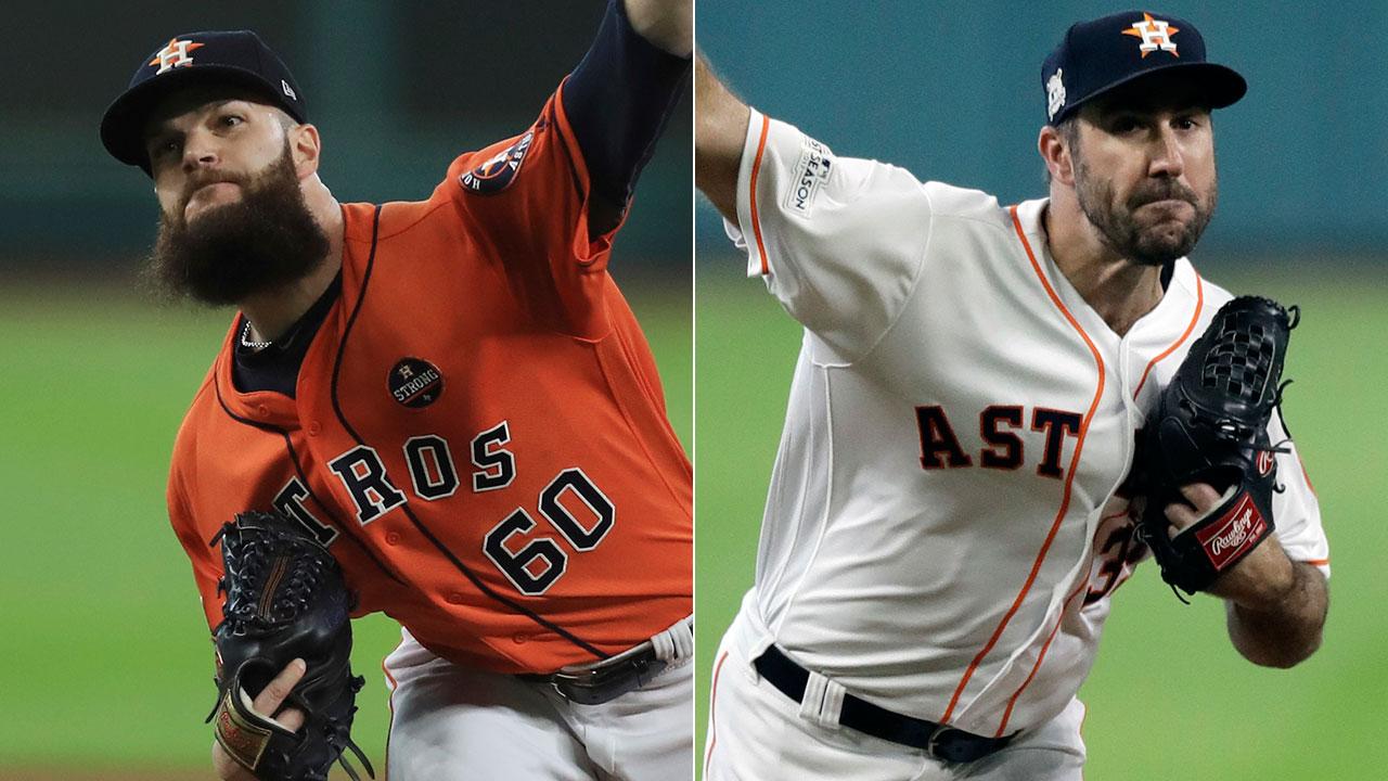 Keuchel y Verlander abrirán los Juegos 1 y 2 de la SCLA por los Astros