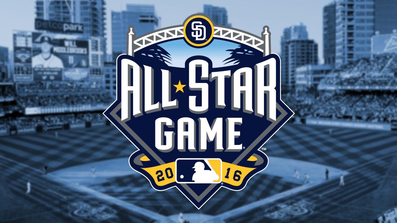MLB y los Padres presentan el logo del Juego de Estrellas 2016