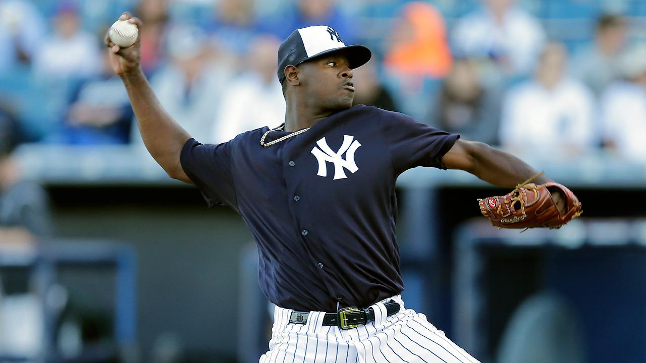 Luis Severino se solidifica en la rotación de los Yankees