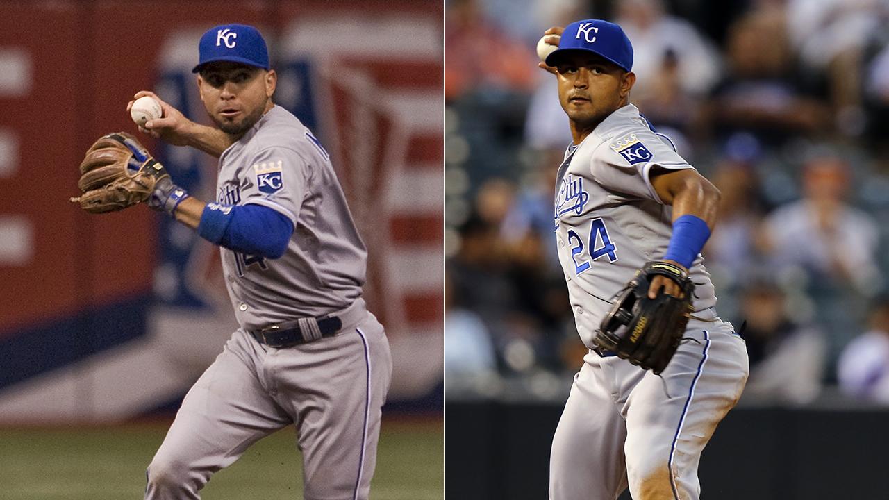 Infante y Colón lucharán por la segunda base en los Reales