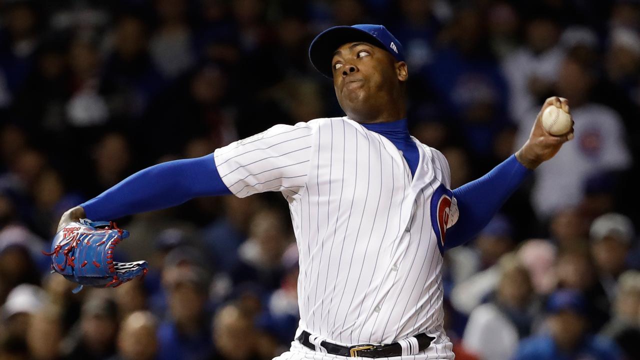 ¿Estarán los Yankees otra vez interesados en Aroldis Chapman?