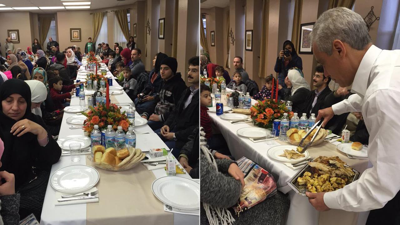 Sean Doolittle les brindó una cena especial a refugiados sirios