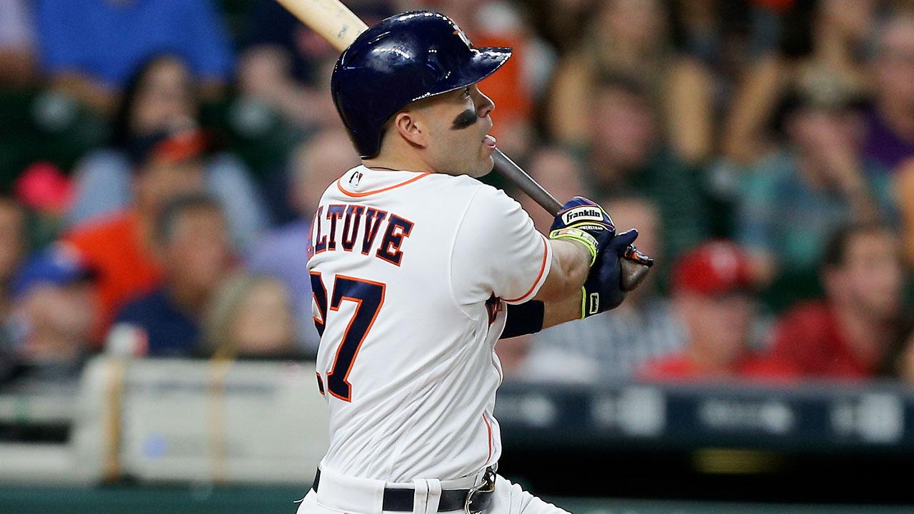 José Altuve sobresale entre las estrellas de los Astros de Houston